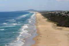 Пляж Квинсленд солнечности Стоковое Изображение RF