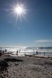 Пляж Кейптауна стоковое фото rf