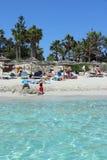 Пляж Кипра Стоковая Фотография RF