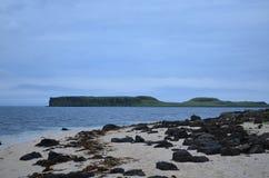 Пляж коралла в северо-западе Шотландии Стоковые Фотографии RF