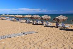 Пляж Корфу стоковые изображения rf