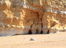 Пляж крапивницы, Bridport, Дорсет Стоковое Изображение