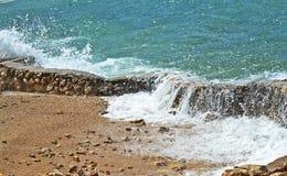 пляж красивейший Стоковые Изображения
