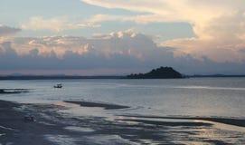 пляж красивейший Стоковое Изображение RF