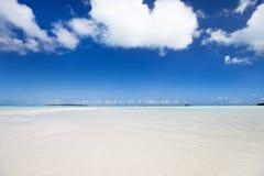 пляж красивейший caribbean Стоковые Фотографии RF