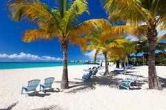 пляж красивейший caribbean Стоковое фото RF