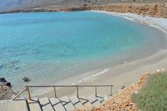 Пляж Крит Греция пустыни Стоковые Фото