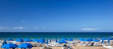Пляж курорта Мауи Гаваи Wailea Стоковая Фотография