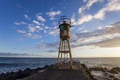 Пляж Ла соляной, Ла Остров Реюньон, Франция Стоковое фото RF
