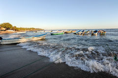 Пляж Лос Cobanos Стоковое Фото