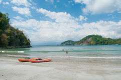 Пляж Манюэля Антонио Стоковое Изображение RF