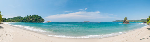 Пляж Манюэля Антонио Стоковое Фото