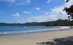 Пляж Манюэля Антонио Стоковая Фотография