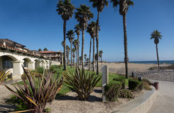 Пляж Мандалая, Oxnard, CA Стоковое Фото