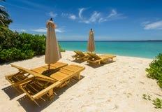 Пляж Мальдивов стоковое фото