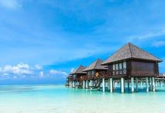 Пляж Мальдивы стоковое изображение rf