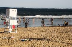 Пляж Мейна Стоковые Фотографии RF