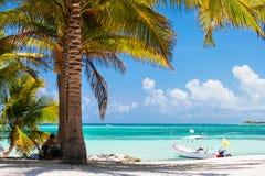 пляж Мексика тропическая Стоковые Изображения