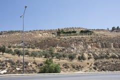 Пляж мертвого моря - Аммана Стоковые Изображения RF