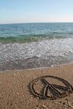 Пляж мира Стоковая Фотография RF