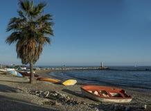 Пляж мистраля Стоковая Фотография