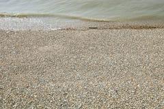 Пляж моря и гонта Стоковое фото RF