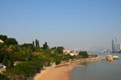 Пляж моря Стоковые Изображения RF