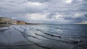 Пляж моря Nettuno Стоковое Изображение