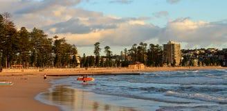 пляж мужественный Сидней Австралии Стоковая Фотография RF