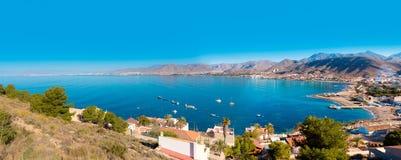 Пляж Мурсия Azohia Ла в среднеземноморской Испании Стоковая Фотография RF