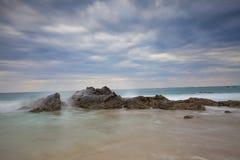 Пляж Мьянма Ngapali Стоковые Изображения RF