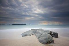 Пляж Мьянма Ngapali Стоковые Фотографии RF