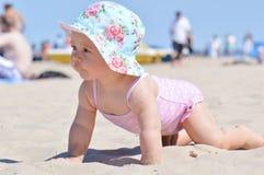 пляж младенца Стоковые Изображения