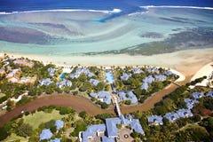 Пляж на Маврикии Стоковая Фотография RF