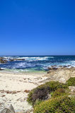 Пляж на 17 милях привода Стоковые Изображения