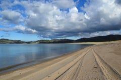 Пляж на море Стоковая Фотография