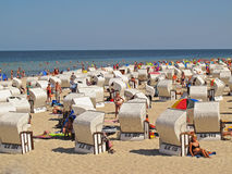 Пляж на острове Ruegen Стоковое Изображение RF