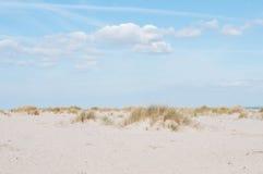 Пляж на острове sylt Стоковое Изображение