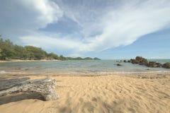 Пляж на сцене chantaburi Стоковые Изображения RF