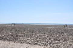 Пляж на юге  Испании Песок, море и небо Без людей Стоковое фото RF