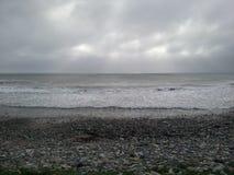 Пляж на Kilmore стоковое фото