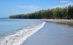 Пляж на Ko Lanta стоковая фотография rf