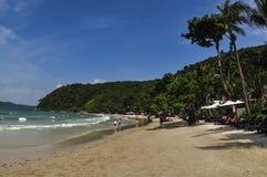 Пляж на koh Samet Стоковое Изображение