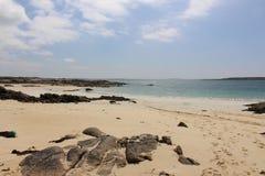 Пляж на Roundstone, co galway Ирландия Стоковые Фото