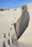 Пляж Новы Косты в Авейру, Португалии Стоковая Фотография
