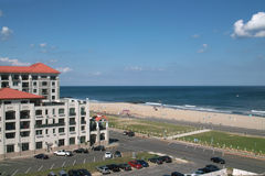 Пляж океана парка Asbury, Нью-Джерси США Стоковые Изображения