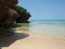 Пляж Окинавы стоковое фото rf