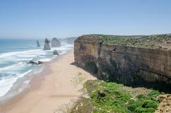 Пляж около 12 апостолов Стоковое Изображение
