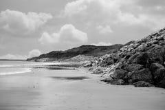Пляж около связей Стоковые Фотографии RF
