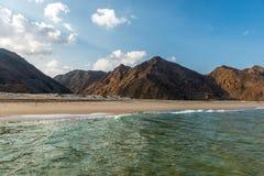 пляж Оман стоковое изображение